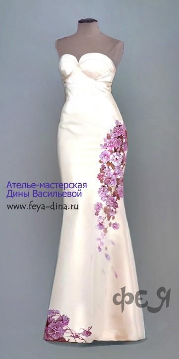 коллекция свадебных платьев от ателье - мастерской Дины Васильевой. Изображение № 4.