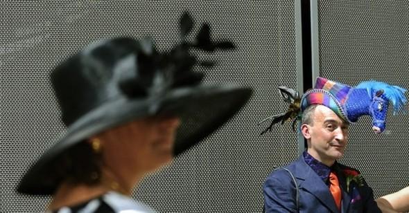 Самые необычные иизысканных шляпки Royal Ascot. Изображение № 26.
