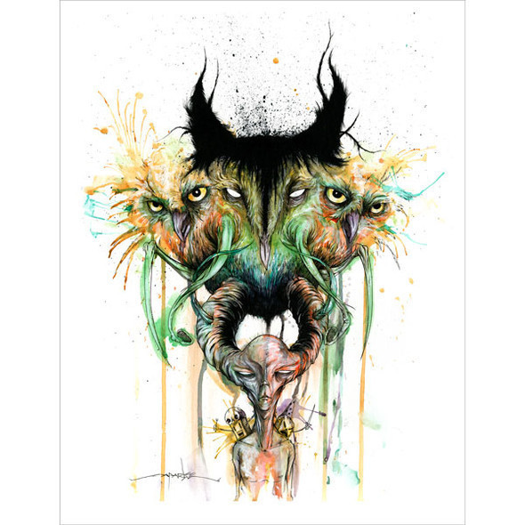 Crazy designs Alex Pardee. Изображение № 8.