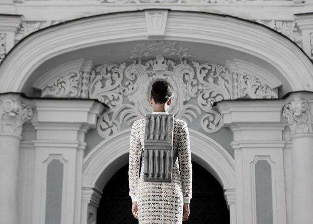 Дизайнер из Украины создал «архитектурные» рюкзаки. Изображение № 4.