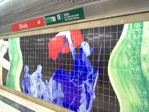 Лиссабон. Метро. Изображение № 46.