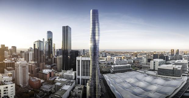 Бюро представило вдохновлённый клипом Бейонсе небоскрёб. Изображение № 2.