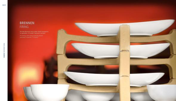 Изображение 1. Dibbern Porcelain Book: книга о костяном фарфоре.. Изображение № 1.