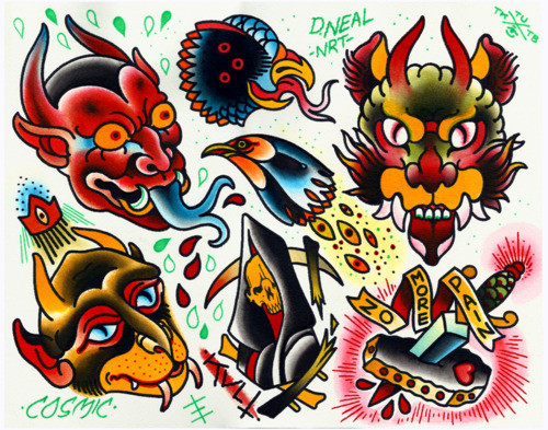 Лучшие Tumblr блоги о татуировках. Изображение № 1.
