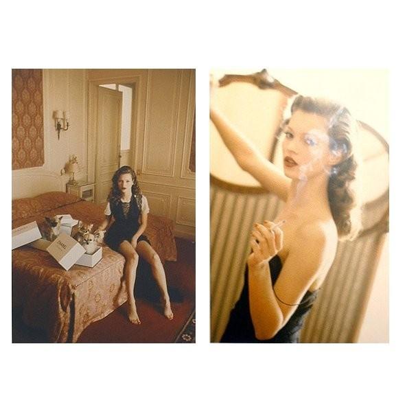 Архивная съёмка: Кейт Мосс для итальянского Vogue, 1993. Изображение № 4.