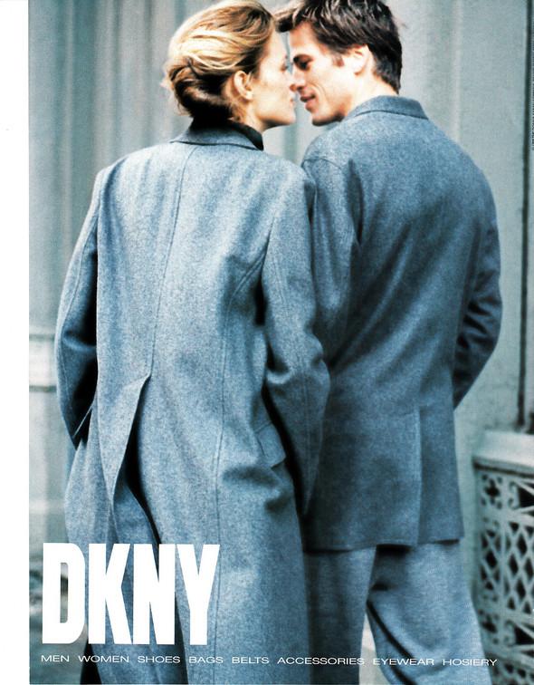 Архивная съёмка: Рекламная кампания DKNY за 1998 год. Изображение № 8.