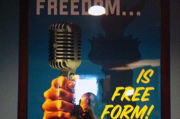 WFMU, девиз радиостанции: «Свобода — это отсутствие формата». Изображение № 15.