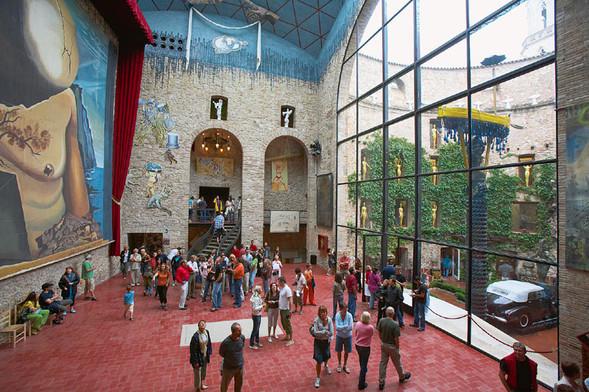 Дом-музей Сальвадора Дали вФигейросе, Испания. Изображение № 5.