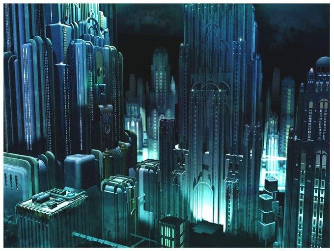 Опубликованы концепт-арты экранизации Bioshock. Изображение № 5.