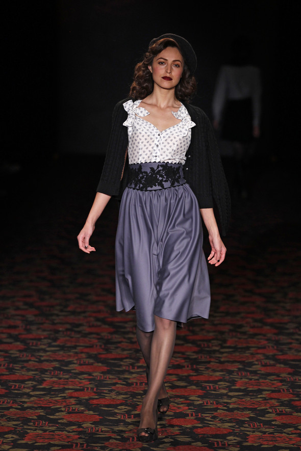 Berlin Fashion Week A/W 2012: Lena Hoschek. Изображение № 10.