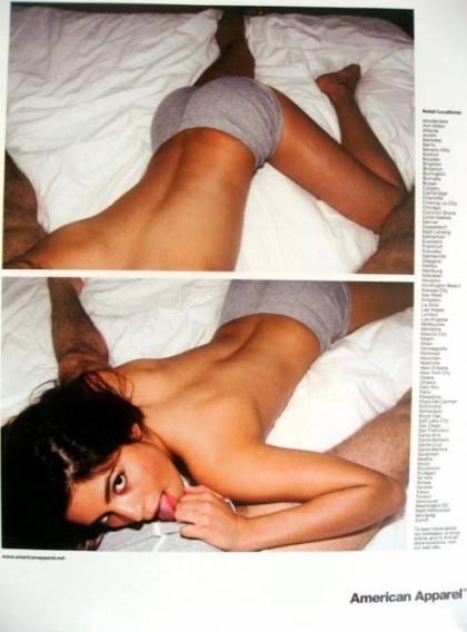 Сексуальная провокация American Аpparel. Изображение № 9.