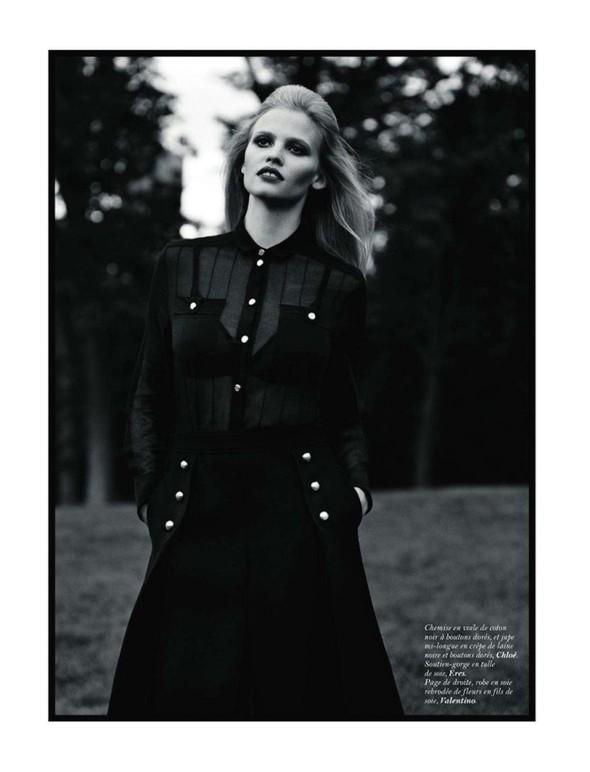 Съёмка: Лара Стоун для Vogue. Изображение № 3.