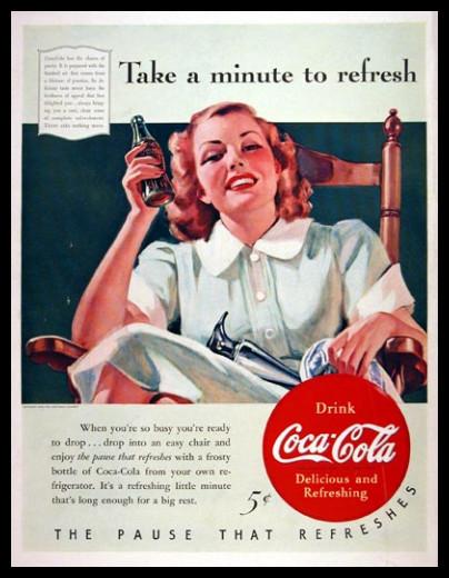 Изображение 22. Coca-cola – История бренда, история рекламы.. Изображение № 22.