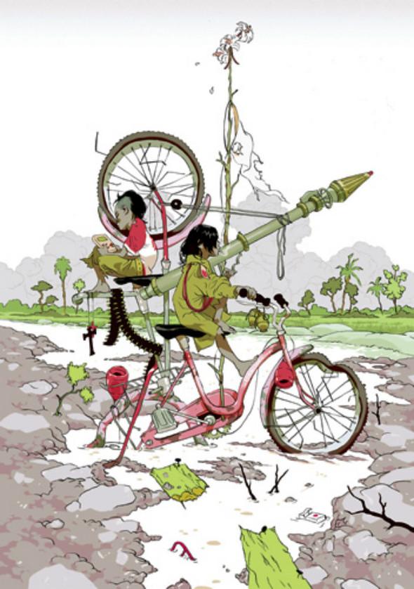 Иллюстрации Томера Хануки. Изображение № 9.