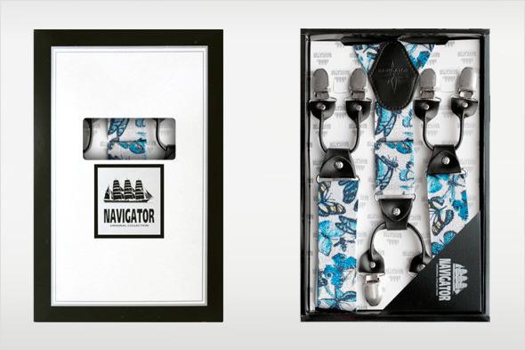 Коллекция подтяжек «Навигатор» от Sevaro Elit . Изображение № 26.