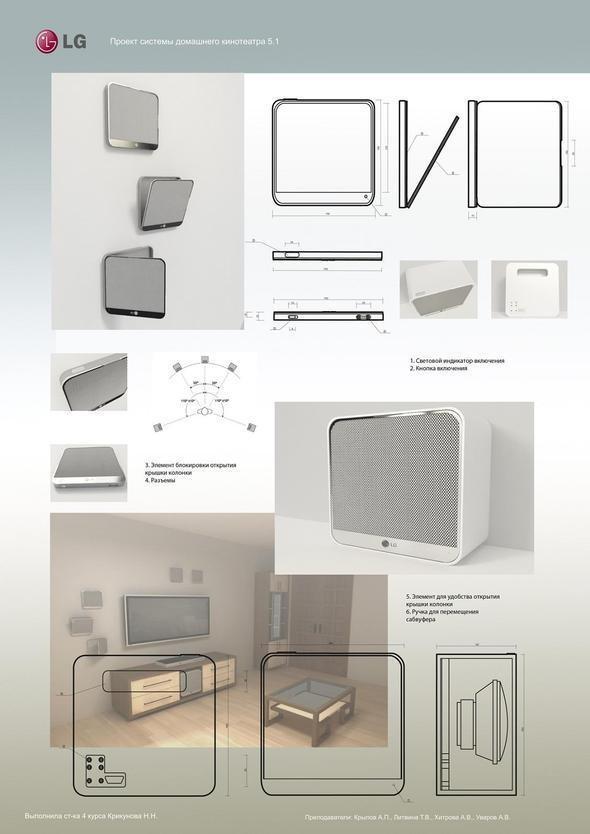 Изображение 5. Русские дизайнеры придумывают новые домашние кинотеатры.. Изображение № 5.