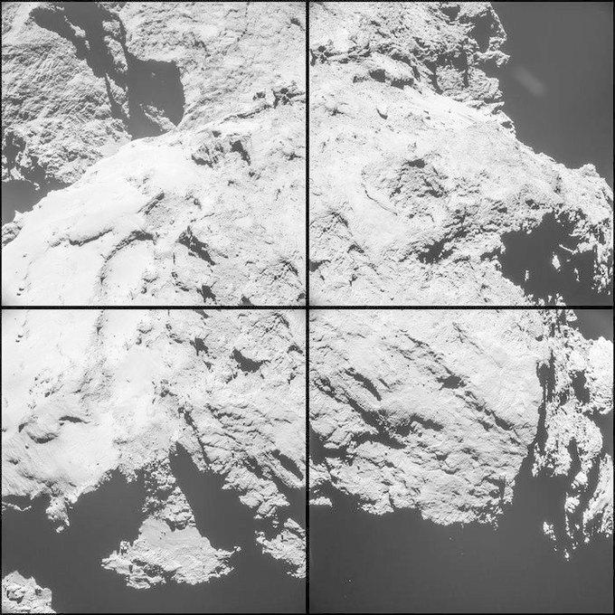 ЕКА опубликовало новые фото кометы 67Р. Изображение № 2.