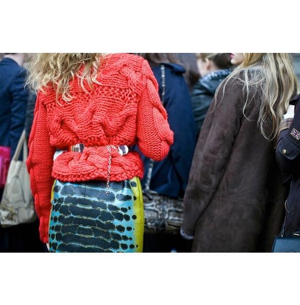 Изображение 45. На полях: 10 тенденций уличного стиля с прошедших недель моды.. Изображение № 45.