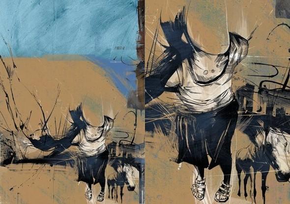 Russ Mills : графика, фотография и живопись. Изображение № 39.