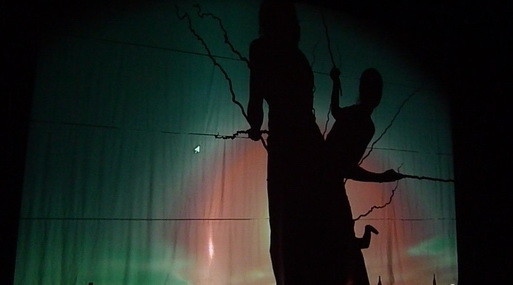 """Нежный клоун в костюме Чехова. Спектакль """"Донка"""". Изображение № 6."""