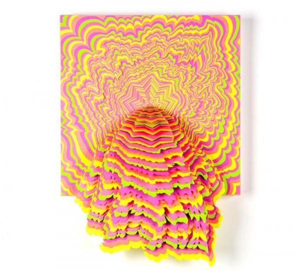 Абстракция из цветной бумаги. Изображение № 16.