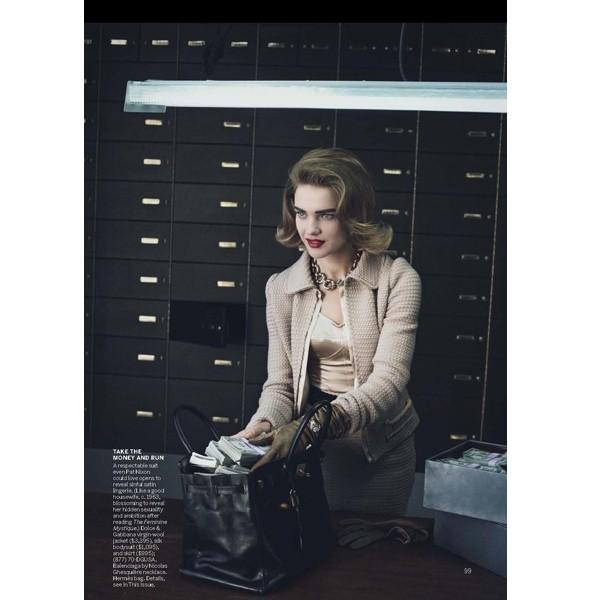 5 новых съемок: Amica, Elle, Harper's Bazaar, Vogue. Изображение № 35.