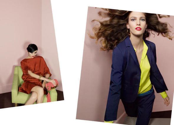 Изображение 21. Рекламные кампании: Diane von Furstenberg, Karl Lagerfeld, McQ и другие.. Изображение № 8.