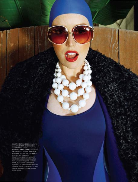 Съемка California Dream из Harper's Bazaar Russia. Изображение № 58.