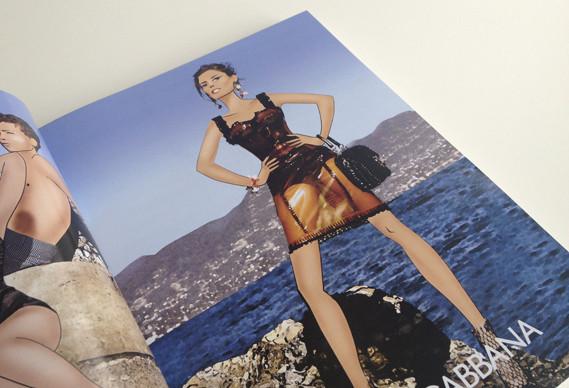 Журнал о моде Herself: только иллюстрации и никаких фотографий. Изображение № 4.