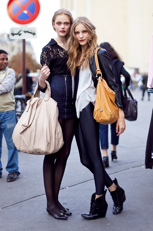 Models street style. Изображение № 41.