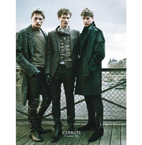 Изображение 16. Рекламные кампании: Cerruti, Lanvin и H&M.. Изображение № 4.