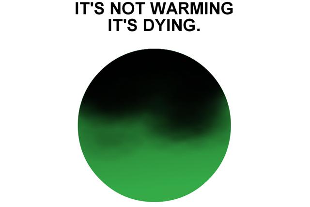 """Дизайнер логотипа """"I Love New York"""" создал знак для экологической кампании . Изображение № 2."""