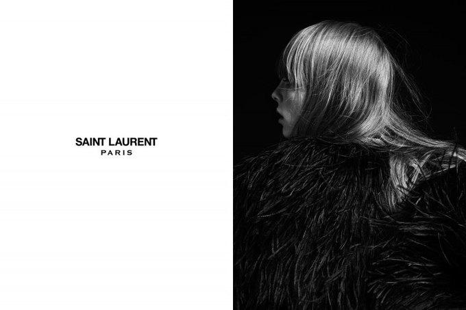 Бек и Эди Кэмпбелл снялись в кампании Saint Laurent. Изображение № 6.