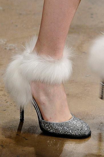 Изображение 11. Неделя моды в Нью-Йорке: обувь.. Изображение № 11.