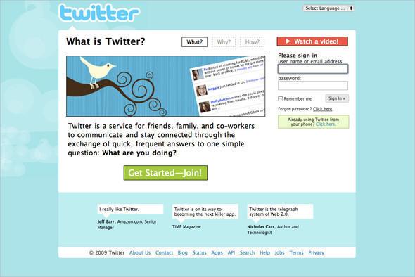 Twitter: Обновите вебдоверсии двасполовиной. Изображение № 1.