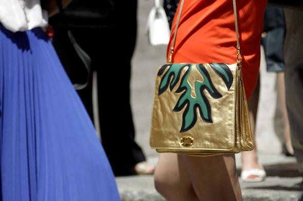 Изображение 8. Девушки на Milan Fashion Week: день 2.. Изображение № 8.