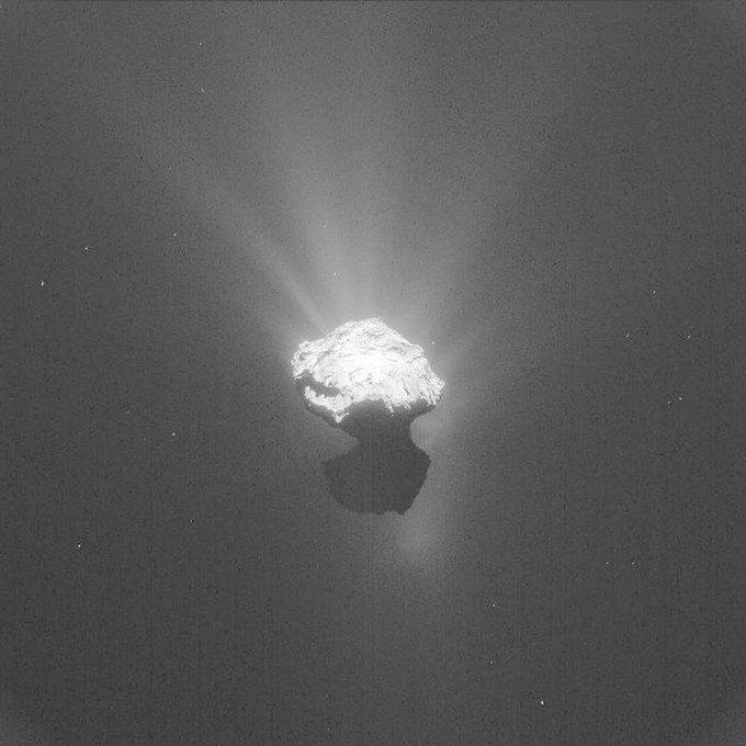 Миссию Rosetta продлят до сентября 2016 года. Изображение № 1.