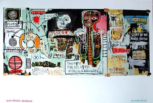 Жан-Мишель Баския - The Radiant Child. Изображение № 7.