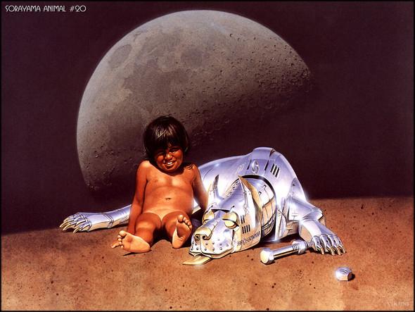 Японский художник Hajime Sorayama. Изображение № 3.