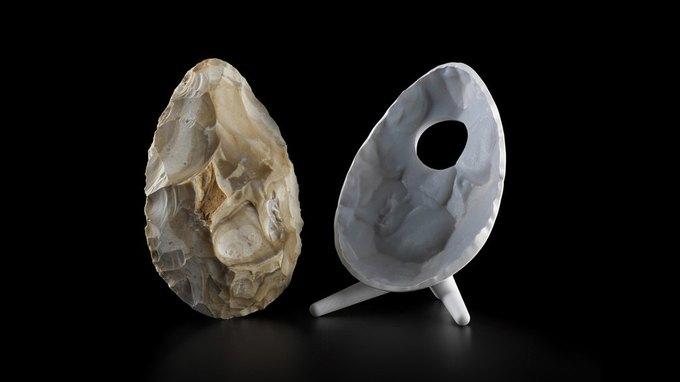 Дизайнеры воссоздали орудия Каменного века с помощью 3D-печати . Изображение № 7.