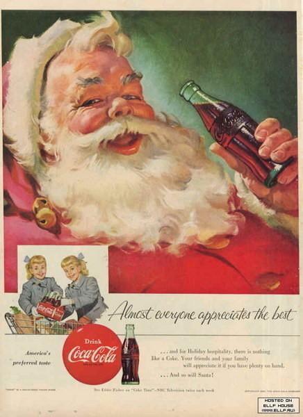 69 рождественских рекламных плакатов. Изображение № 12.