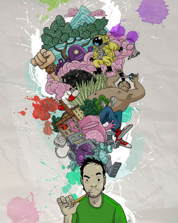 Новые имена: 15 молодых иллюстраторов. Изображение № 38.
