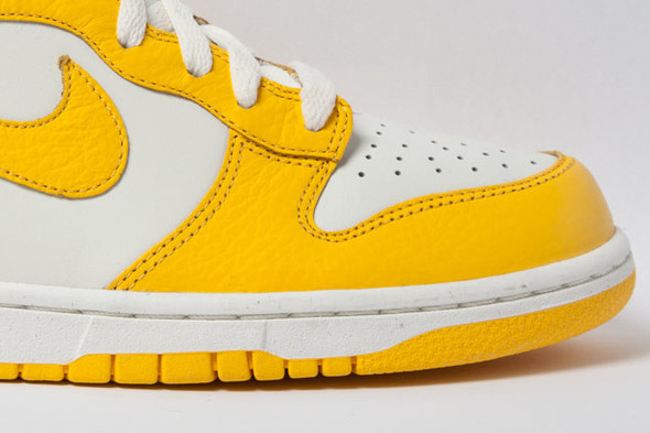 NIKE DUNK HIGH (VARSITY MAIZE). Изображение № 5.
