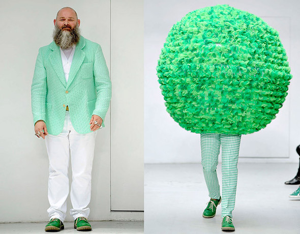 CLOUD #9 by Walter Van Beirendonck Summer 2012. Изображение № 1.