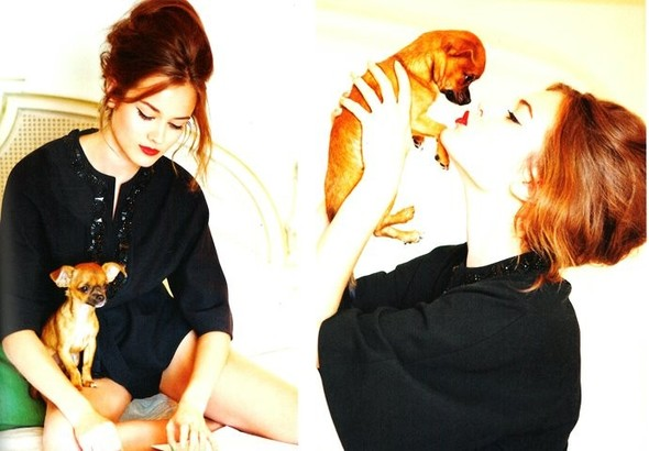 Кампания: Моника Ягачак и Эллен фон Унверт для Dior Cruise 2012. Изображение № 18.