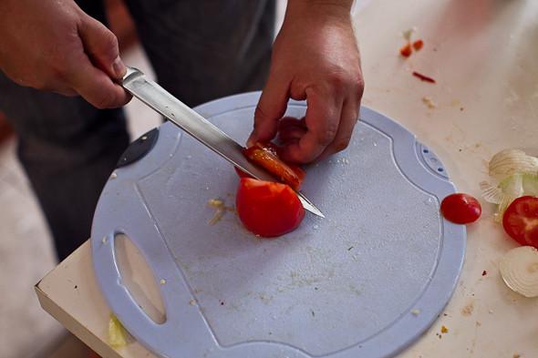 Овощное рагу, гаспачо, греческий салат: Настоящий осенний обед. Изображение № 34.