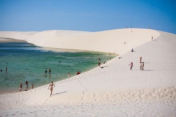Белые пески Lencois Maranhenses. Изображение № 18.