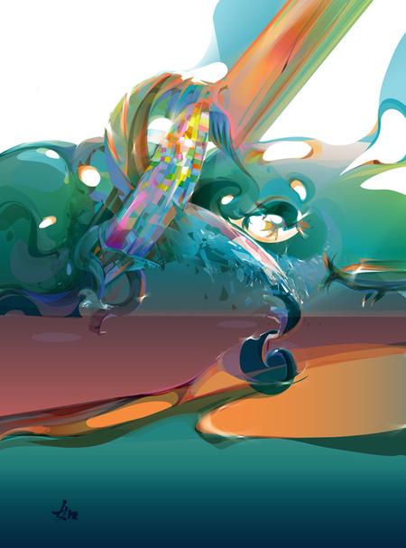 Limkis иеё живописный вектор. Изображение № 5.
