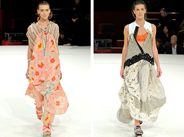 Последние показы на неделе моды в Париже. Изображение № 8.