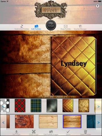 Экс-модель Линдси Cкотт разработала приложение для iPad. Изображение № 1.